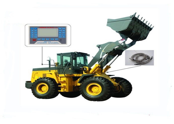 0.1 - 1% Accuracy Wheel Loader Scale System Standard RS232 interface good Stability