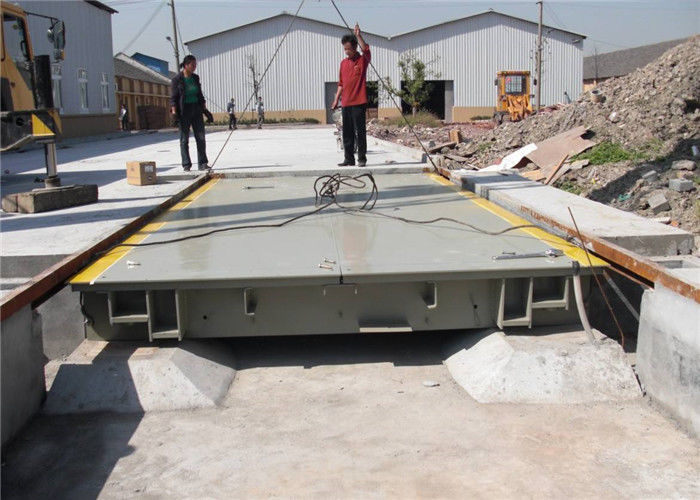 Digital Electronic Lorry Weighbridge 20kg High Accuracy Anti Wear Capacity